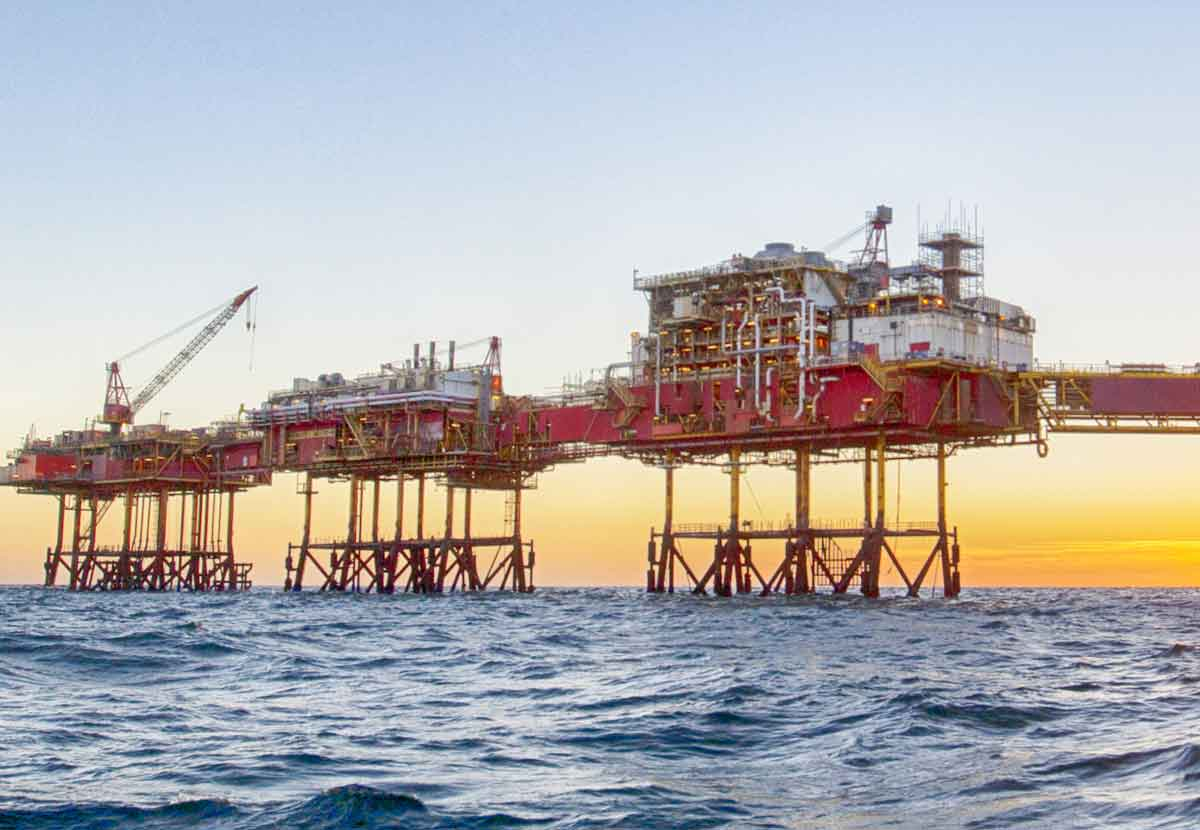 TrueCost helps improve early stage decision making for oil & gas opportunities, such as the offshore asset depicted in this photo.
