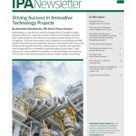 Cover image of the IPA Newsletter September 2019 issue.