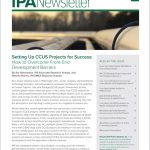 Cover image of the IPA Newsletter September 2020 issue.